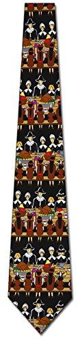 http://www.yourneckties.com/thanksgiving-dinner-ties-mens-pilgrims-neckties-by-ralph-marlin/