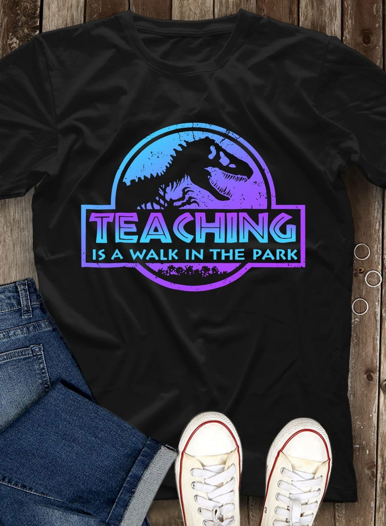 9a001857c Jurassic Park Themed Teacher T-shirt   Jurassic Park Room ...