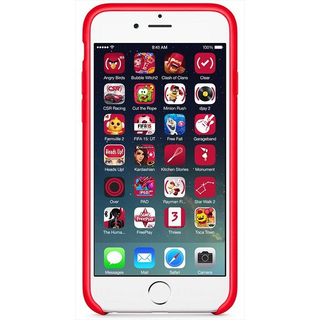 Say hello to the (RED) #AppStore iPhone Apps #AppsforRED Let's