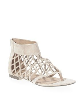 598c0ffc551db Oasis Net Gladiator Sandals -I like the netting but without toe part ...