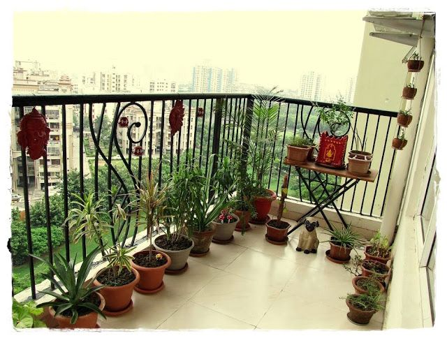 Balcony Garden Small Balcony Garden Apartment Balcony Garden Garden Ideas India