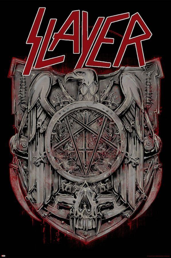 Slayer Medal Poster - TshirtNow.net