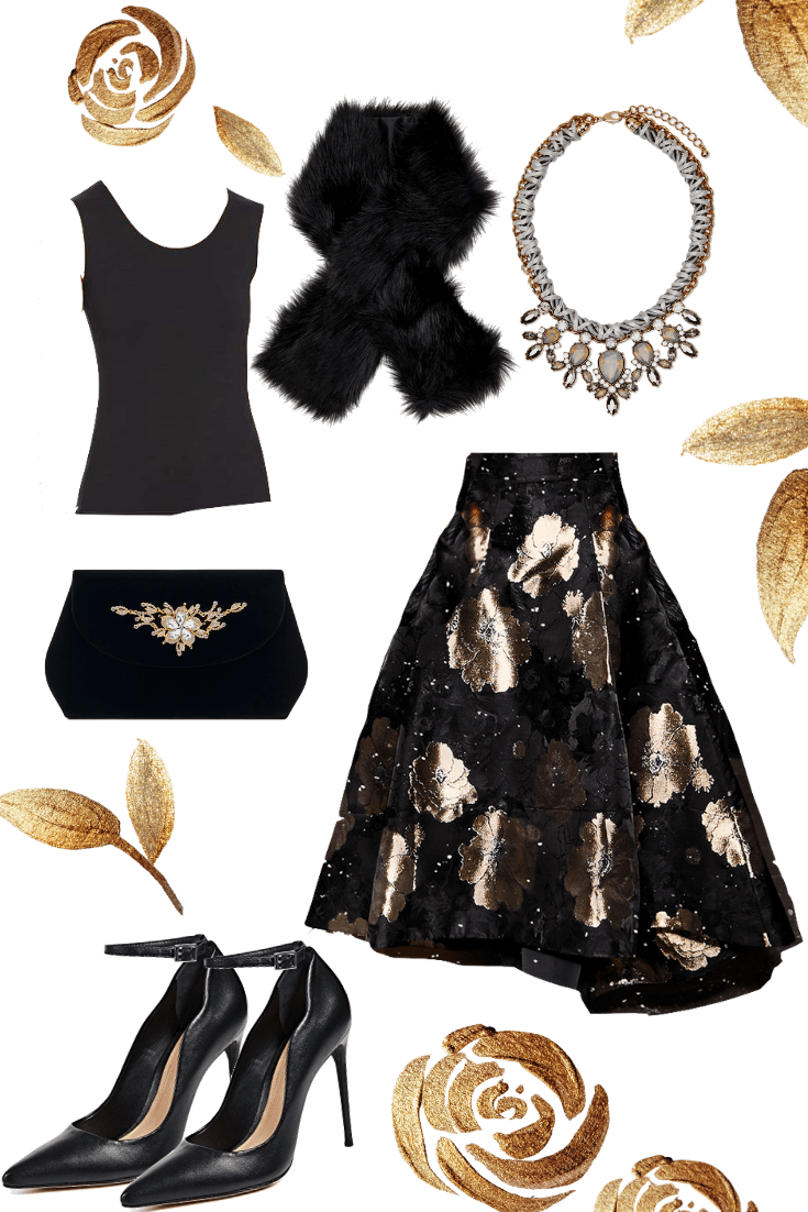 4d0f844456b9 6 Chic holiday party outfit ideas!  Christmasparty  holidaypartyoutfits   holidayoutfits