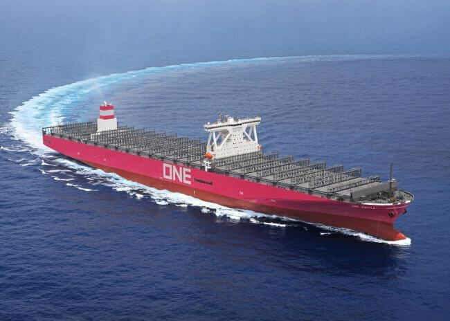 ONE Receives Delivery Of 14,000 TEU Container Ship 'Aquila ...