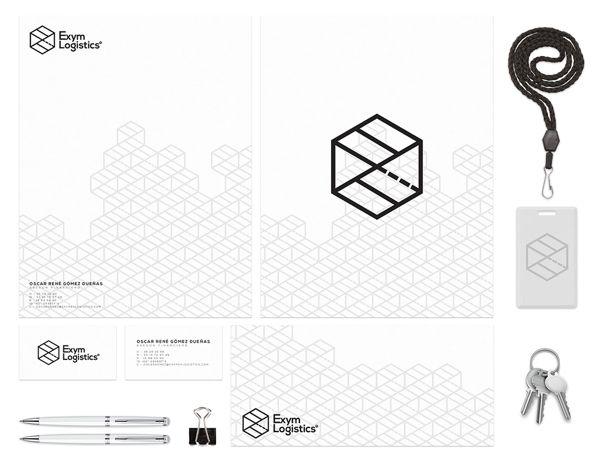 Exym Logistics by Moises Guillen Romero, via Behance