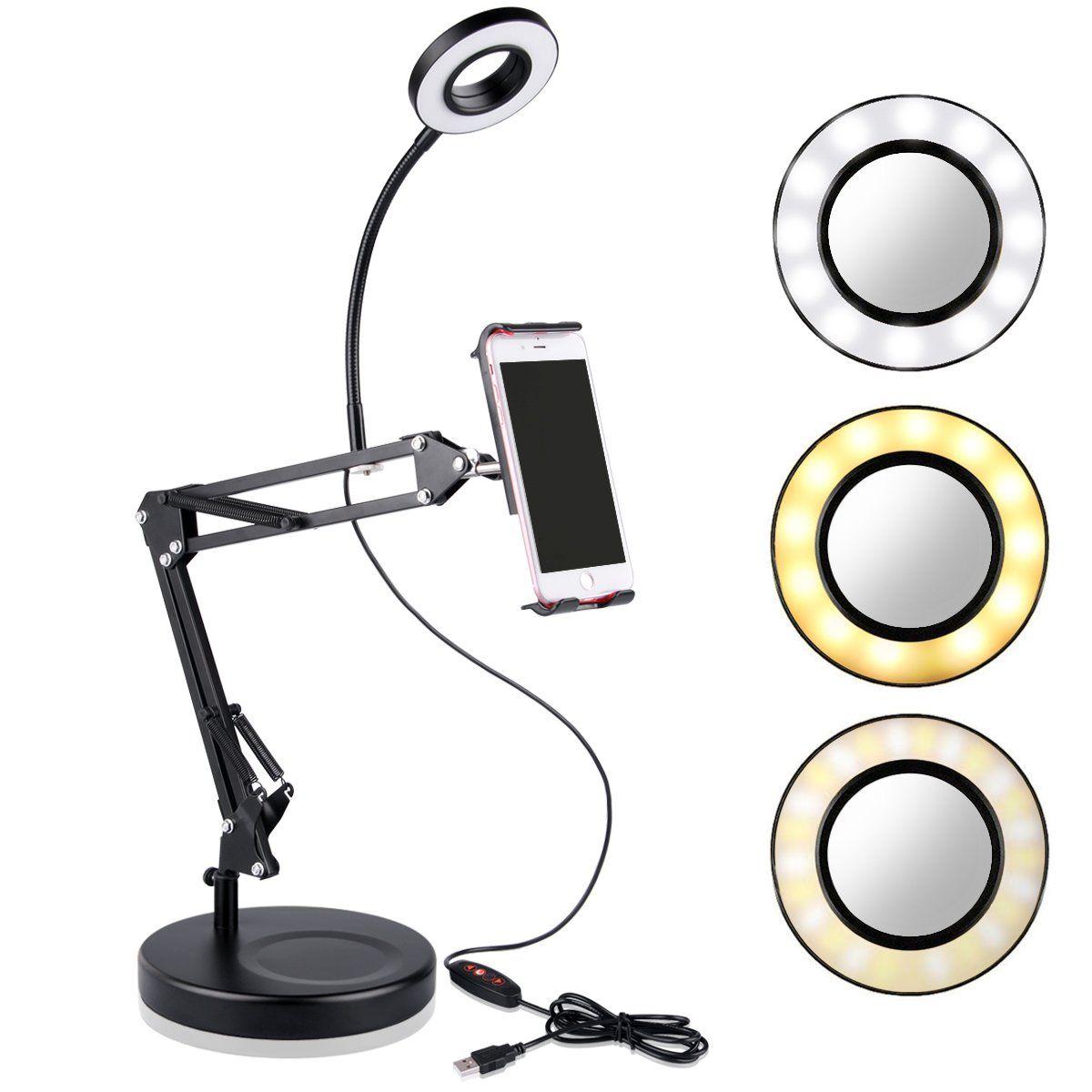 Mobile Flashes Selfie Lights Led Ring Light Stand In 2020 Selfie Ring Light Led Led Ring Light