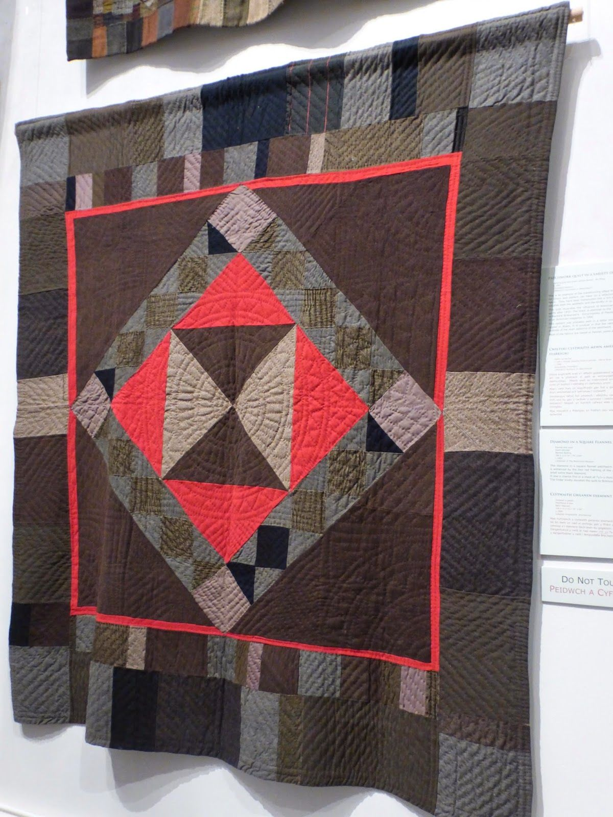 Here are some details from the 'Early to Bed' exhibition at the ... : the welsh quilt centre - Adamdwight.com