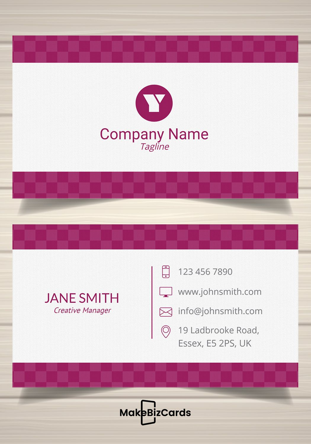 Free Sleek Purple Business Card Template Businesscard Card Template Business Card Template Printing Business Cards