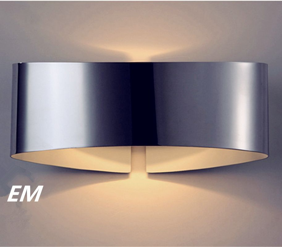Novel design led wall sconce for bedroom 241210cm 9w 90260v