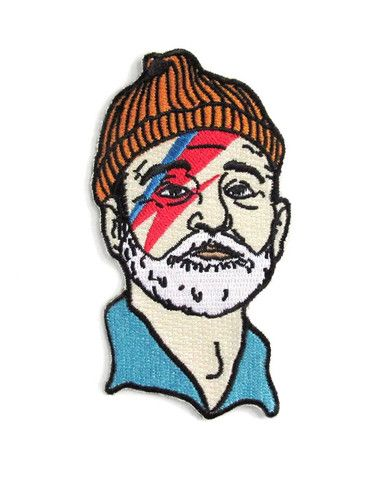 Zissou zane handmade patch wes anderson inspired | etsy.