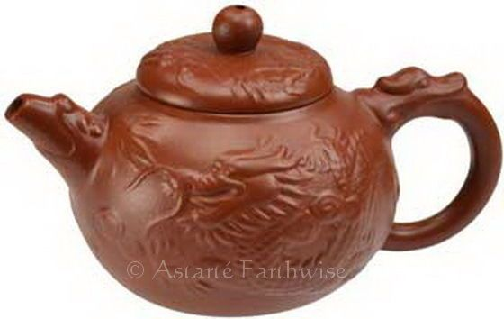 DRAGON TEAPOT Wicca Witch Pagan Goth Occult HERBAL TEAS