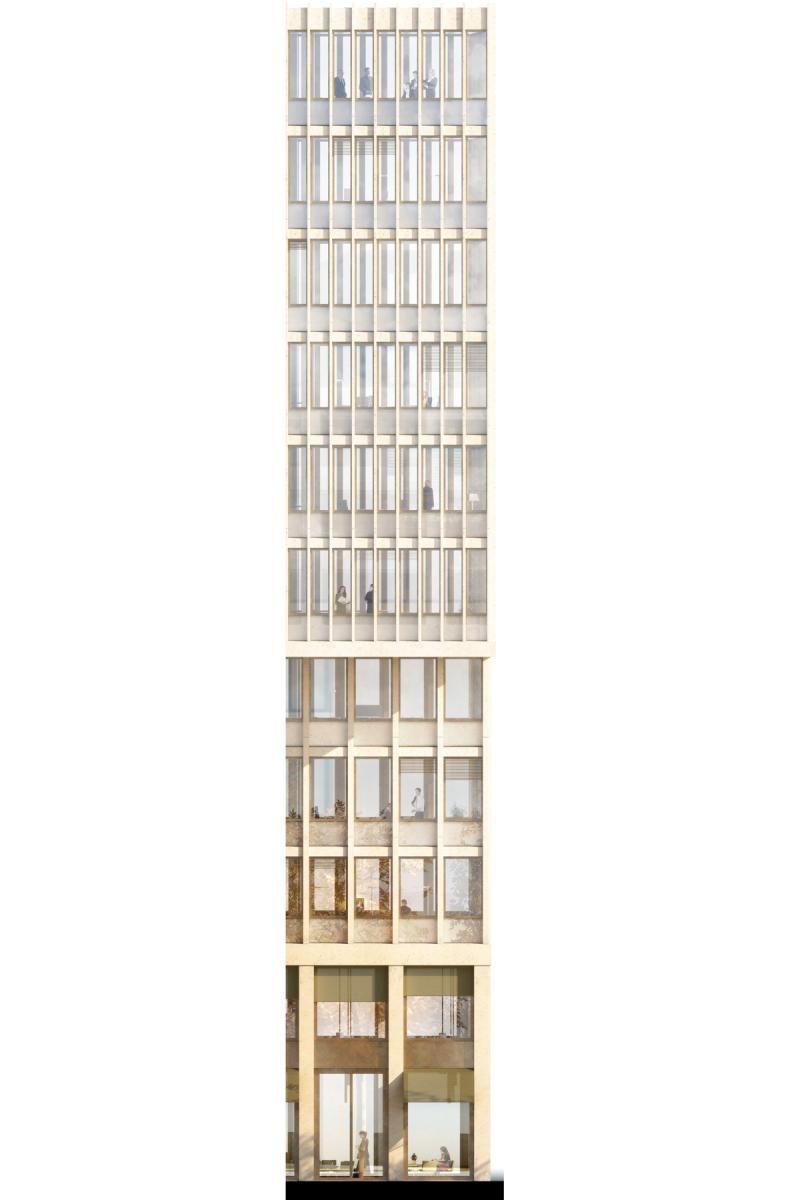 Armon semadeni architekten europaallee baufeld b z rich for Berlin architektur studieren
