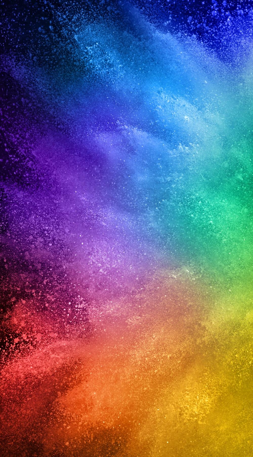 Colourful wallpaper