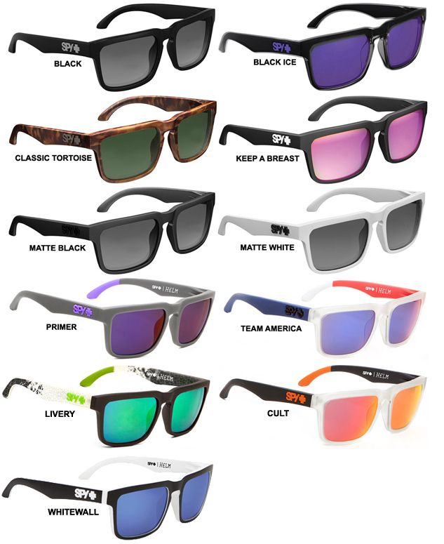 0dd5fe9db3 Spy - Helm Sunglasses. I have most of these