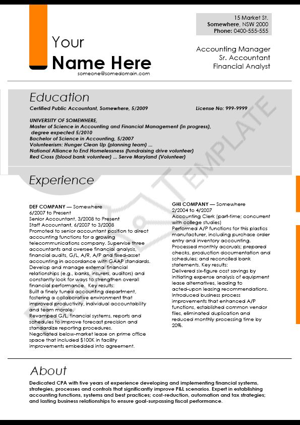 This Image Presents The Writer Resume Template Do You Know How To