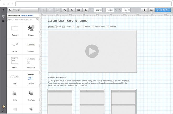 UXPin: UX Design & Wireframing Tools As Beautiful As Your