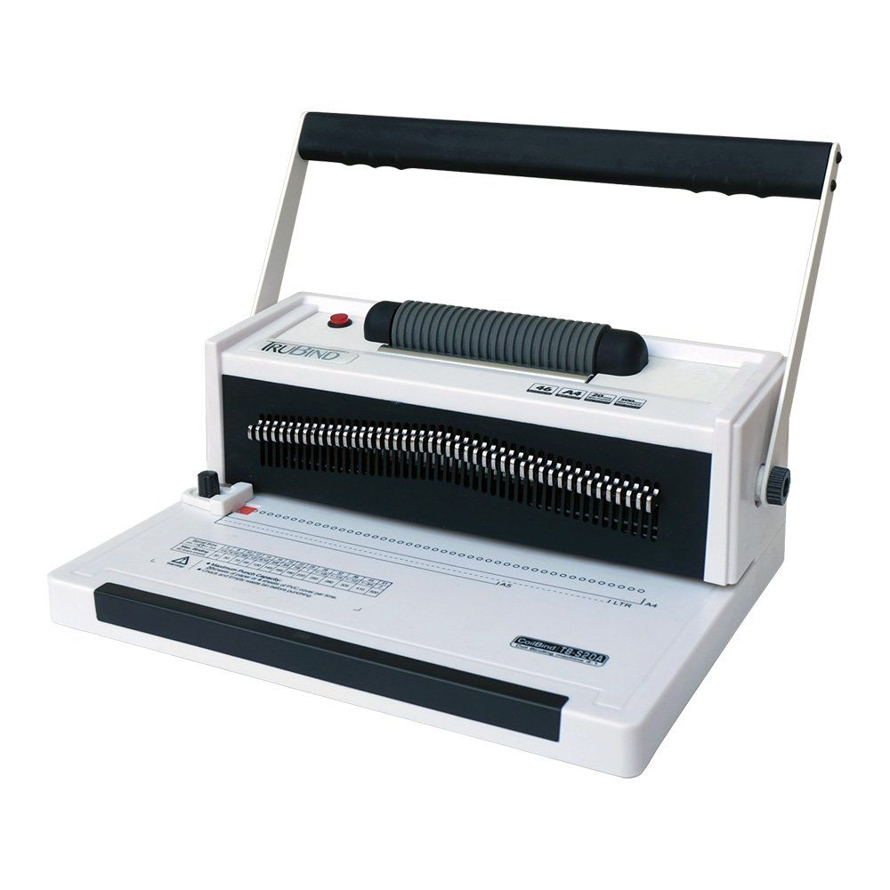 Amazon.com : TruBind TB-S20A Coil Binding Machine With