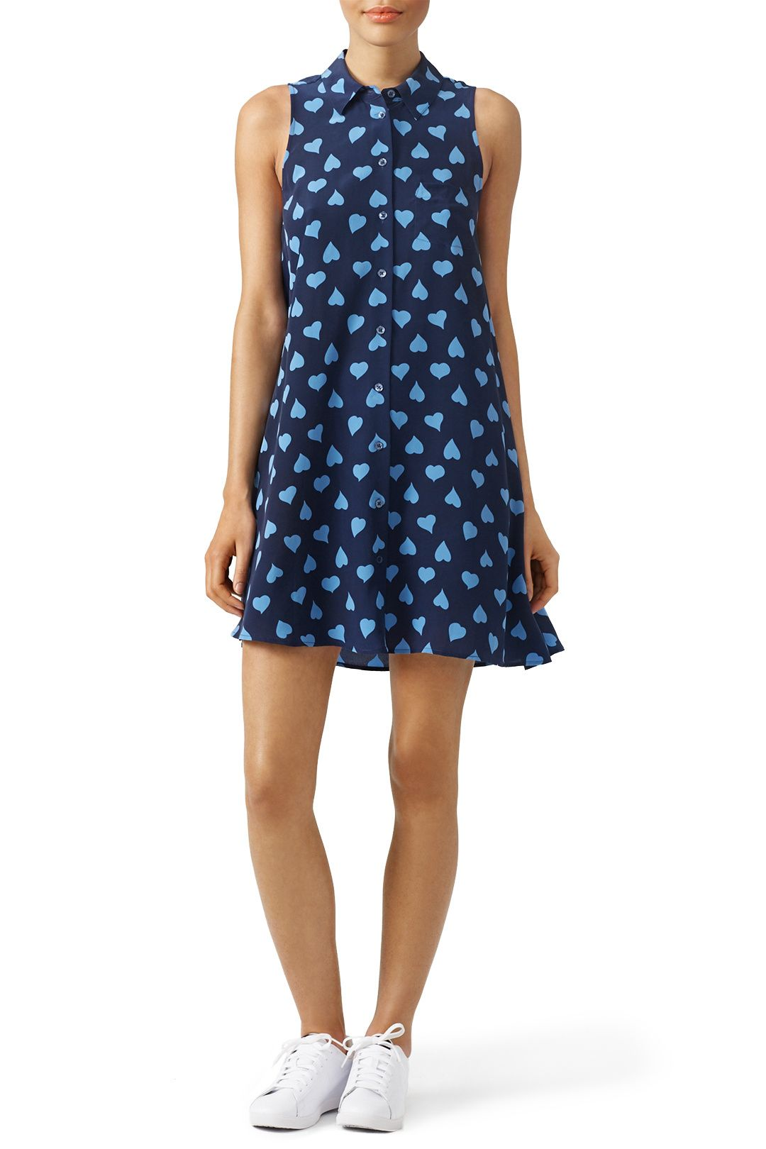 H&m green lace dress  Blue Heart Shirt Dress  th Clothing and Designers