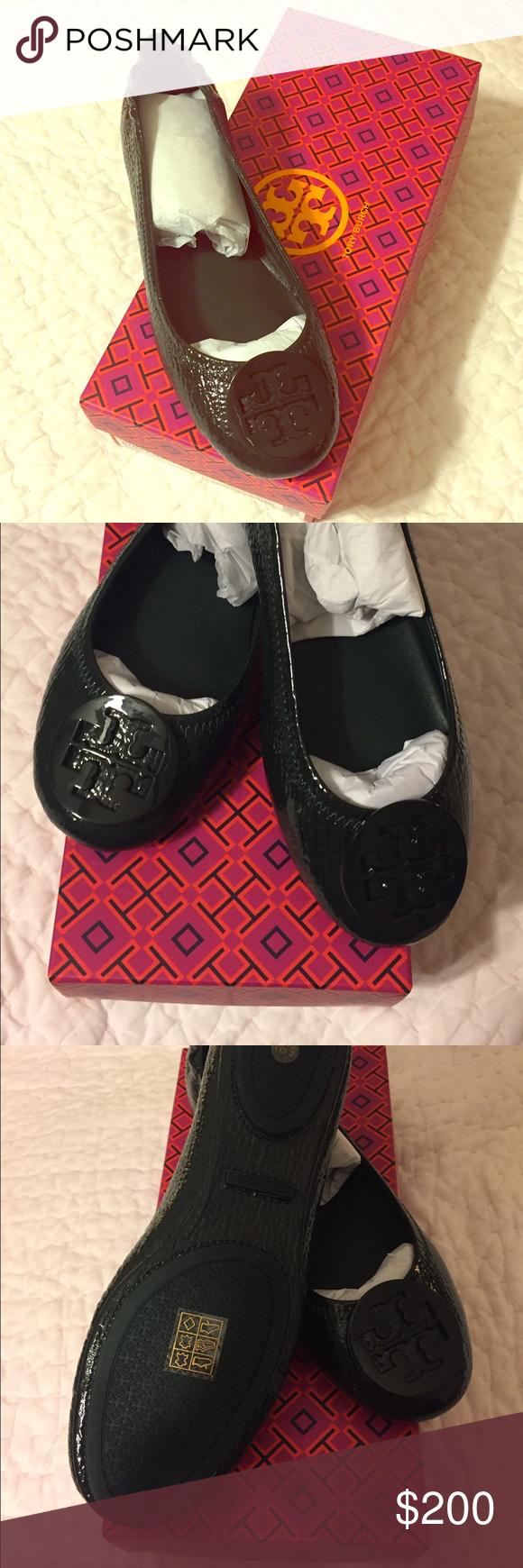 4dd873c55469 New! Tory Burch Minnie Travel Ballet -Jitney Green New! Never worn ...