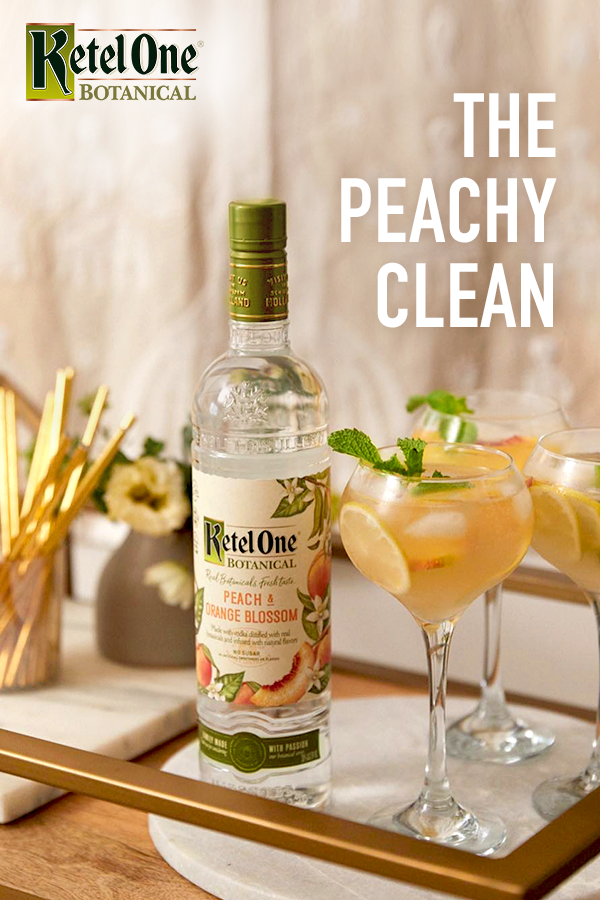 Lily Kunin S Peachy Clean Is The Perfect Cocktail For Your