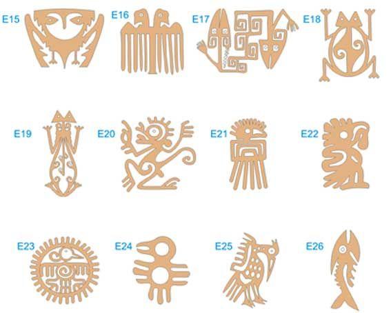80 Figuras Corte Laser Africanas y autoctonas | DIBUJOS ETNICOS ...