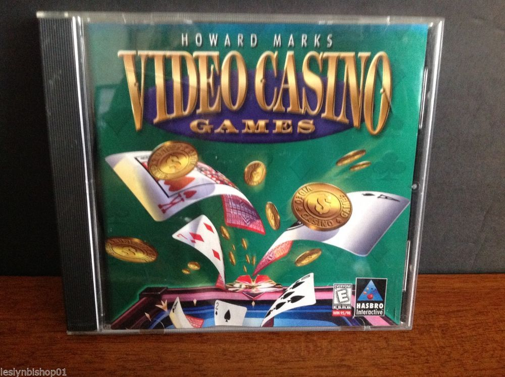 Howard Marks Video Casino Games (PC, 1999) Casino games