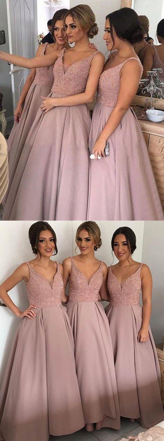 Plus size pink wedding dresses  bridesmaid dress blush bridesmaid dress bridesmaid dress plus