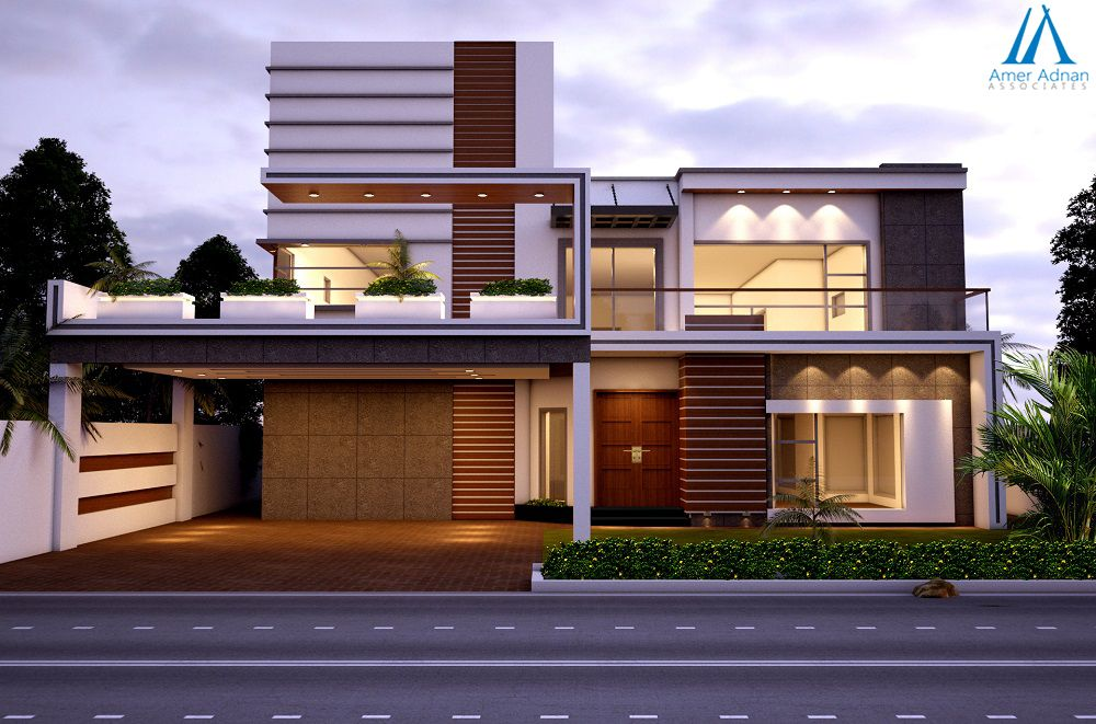 Front Elevation Of High Density Houses