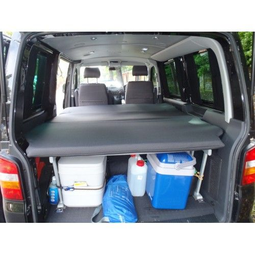 Here Is Our Vw Caravelle Beach Cabin Mattress Topper