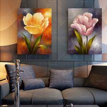 2 pannelli moderna decorazione della parete della pittura