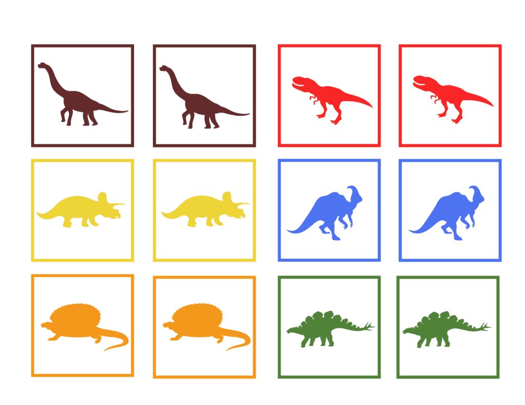 Learning Colors And Numbers In Preschool Dinosaur