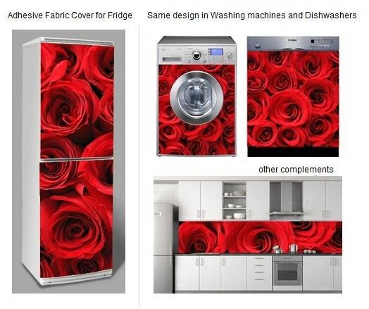Fabric Covers A Way To Decorate Your Washer Dryer Fridge