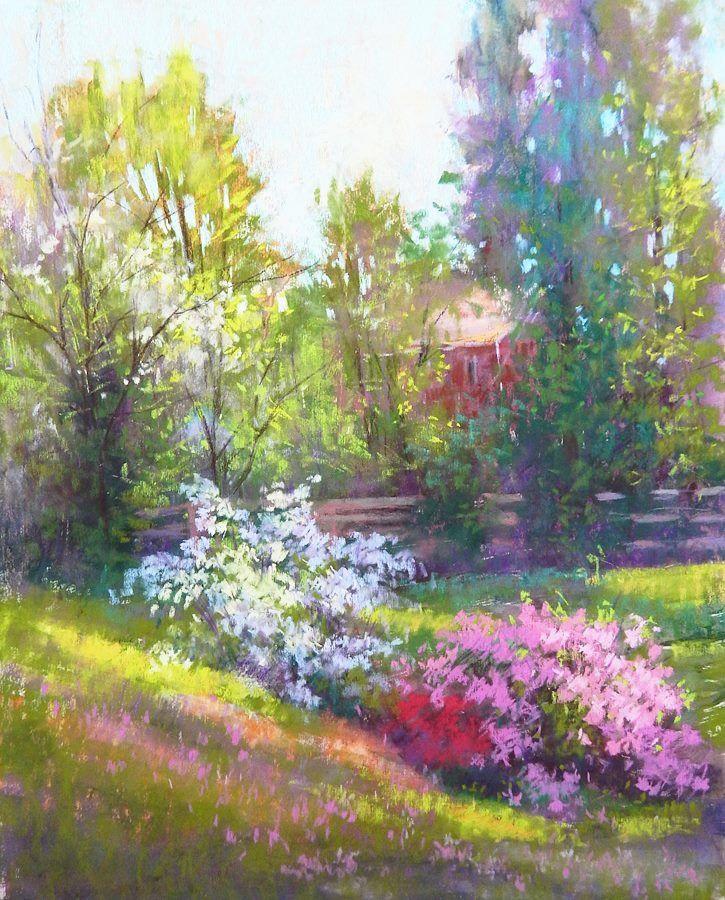 by Julia Lesnichy, pastels