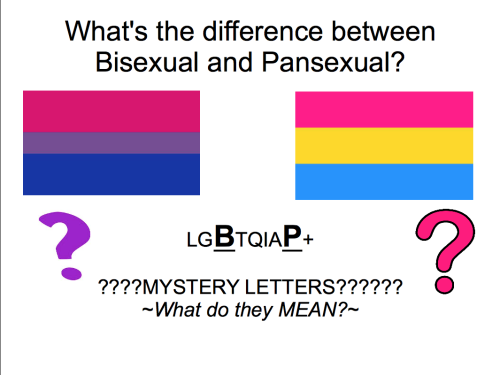 Whats The Difference Between Pansexual And Bisexual