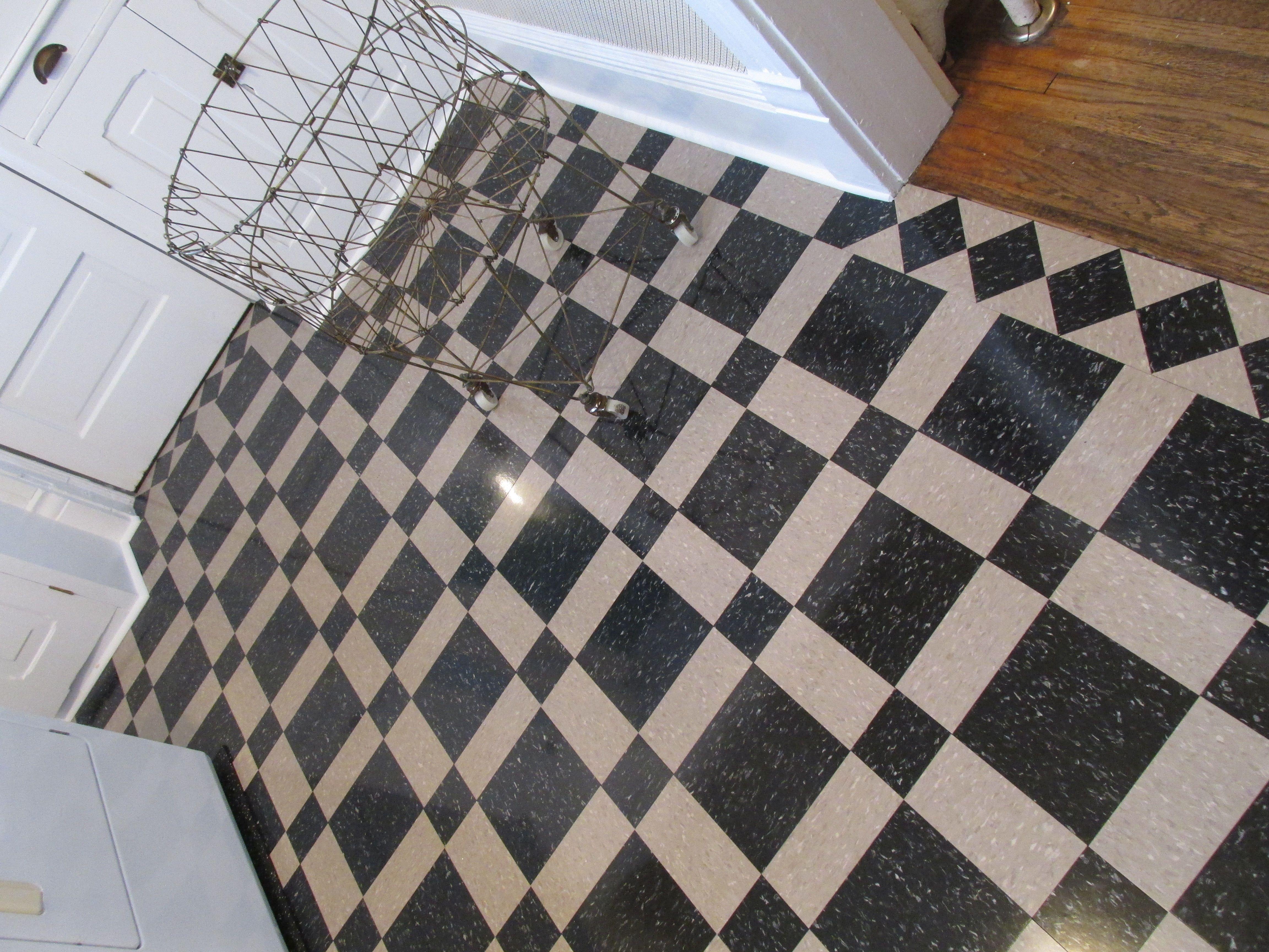 Flooring Breathtaking Vct Tile Design