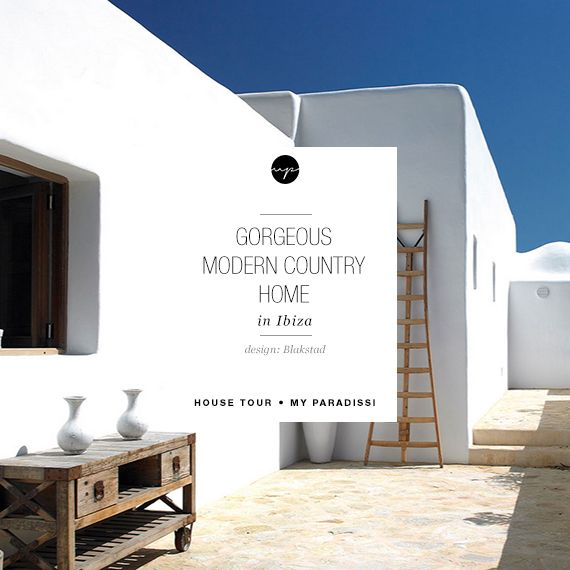 Gorgeous modern country home in Ibiza | Ibiza, Modern country and ...