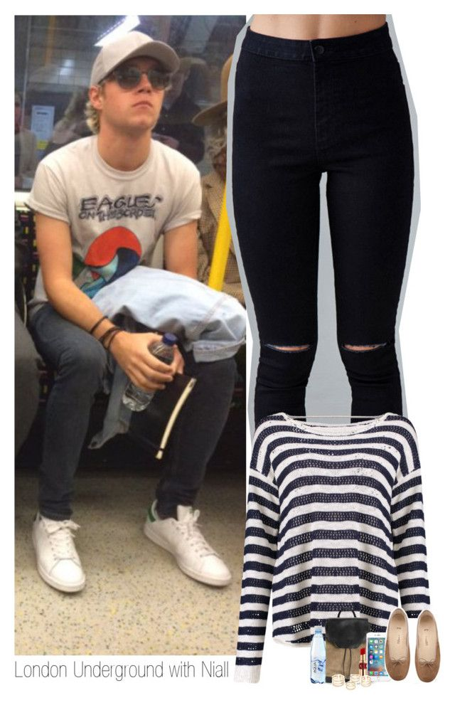 """""""London Underground with Niall"""" by sophie-188 ❤ liked on Polyvore featuring Forever 21, rag & bone and Yves Saint Laurent"""