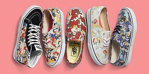 Vans Disney Princess Collection | Disney vans, Disney shoes, Cute ...