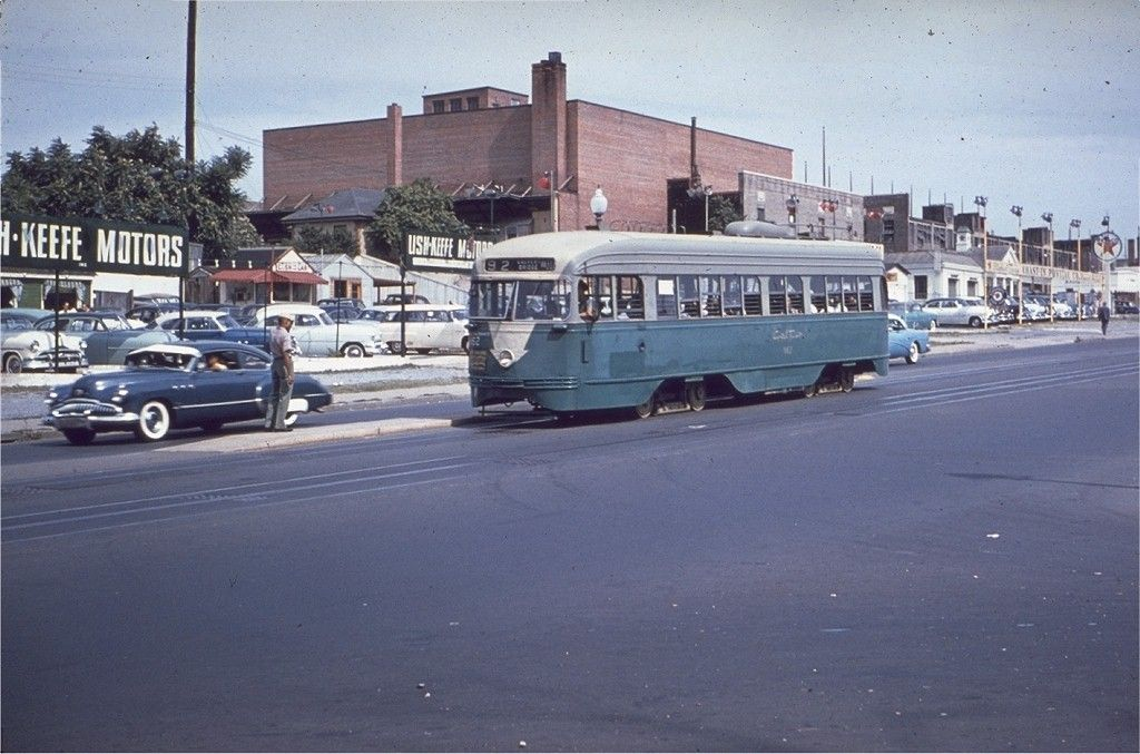 Capital Transit PCC westbound on Florida Avenue NE (routes