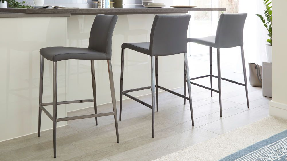 Swell Elise Black Chrome Bar Stool For The Home Bar Stools Andrewgaddart Wooden Chair Designs For Living Room Andrewgaddartcom