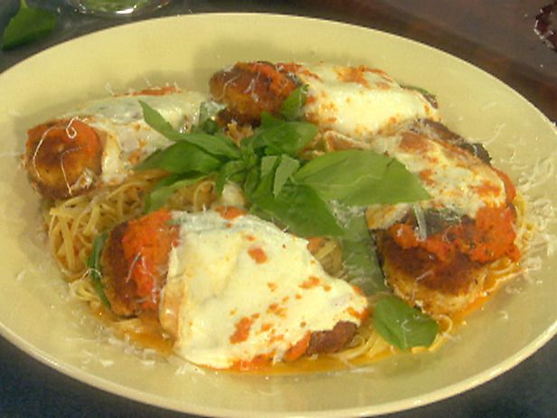 Classic Chicken Parmesan With Oven Roasted Tomato Sauce