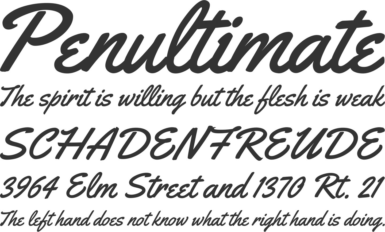 Yellowtail Font Phrases Free font, Invitation fonts, Fonts