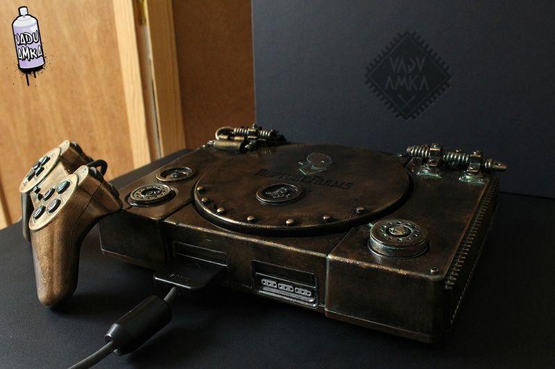 Conheça os impressionantes consoles customizados de Oskunk 0b10c4549c9ac7dd7a1133d4d0081988