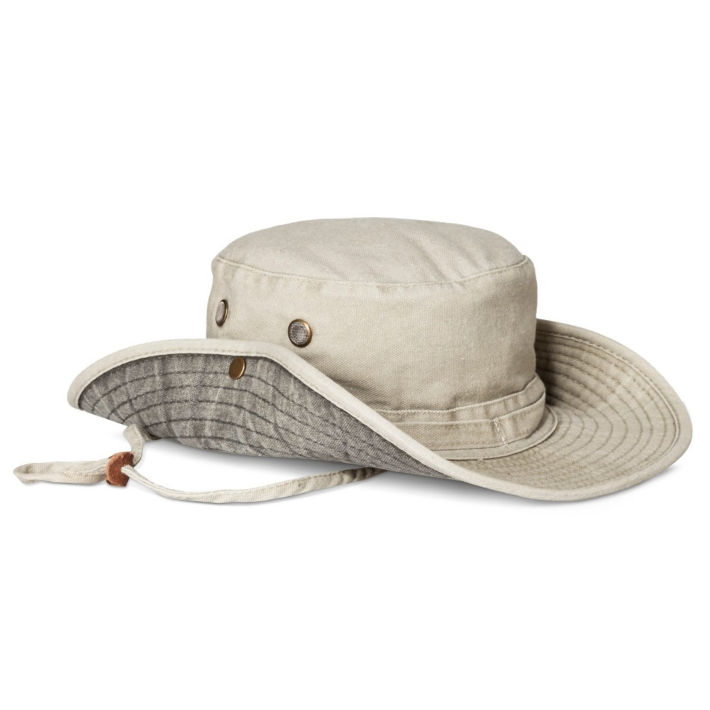 4e9a982eb41 Men s Cotton Canvas Floppy Hat Outback Khaki - L XL