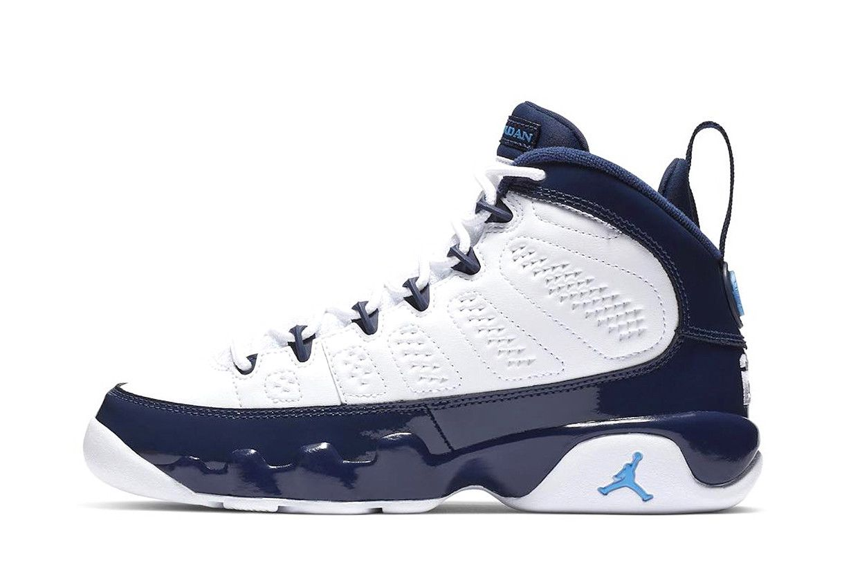 Air Jordan 9 UNC Release Info all star weekend nba michael jordan shoe  kicks sneaker carolina kicks sneakers footwear UNC Jordan Brand b3f3f803e