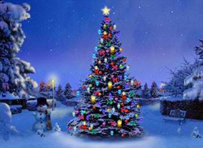 Winter Christmas Scenes Bing Images Christmas Tree Pictures Christmas Tree Wallpaper Christmas Tree Images