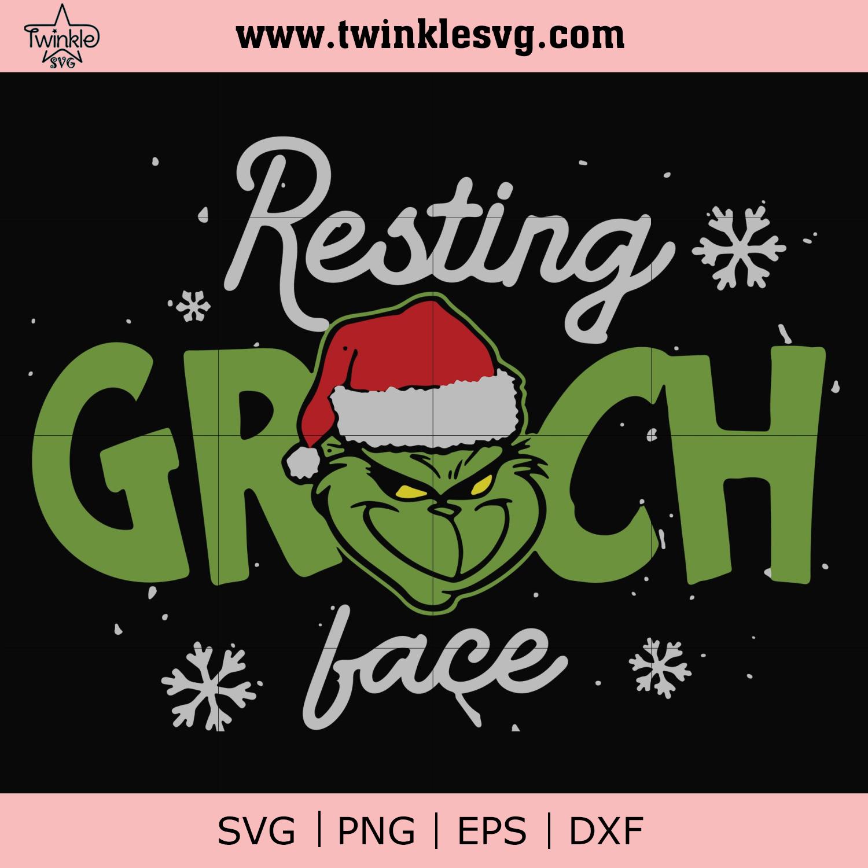 Resting Grinch Face Svg Png Dxf Eps Digital File Ncrm13072031 Christmas Svg Grinch Face Svg Svg