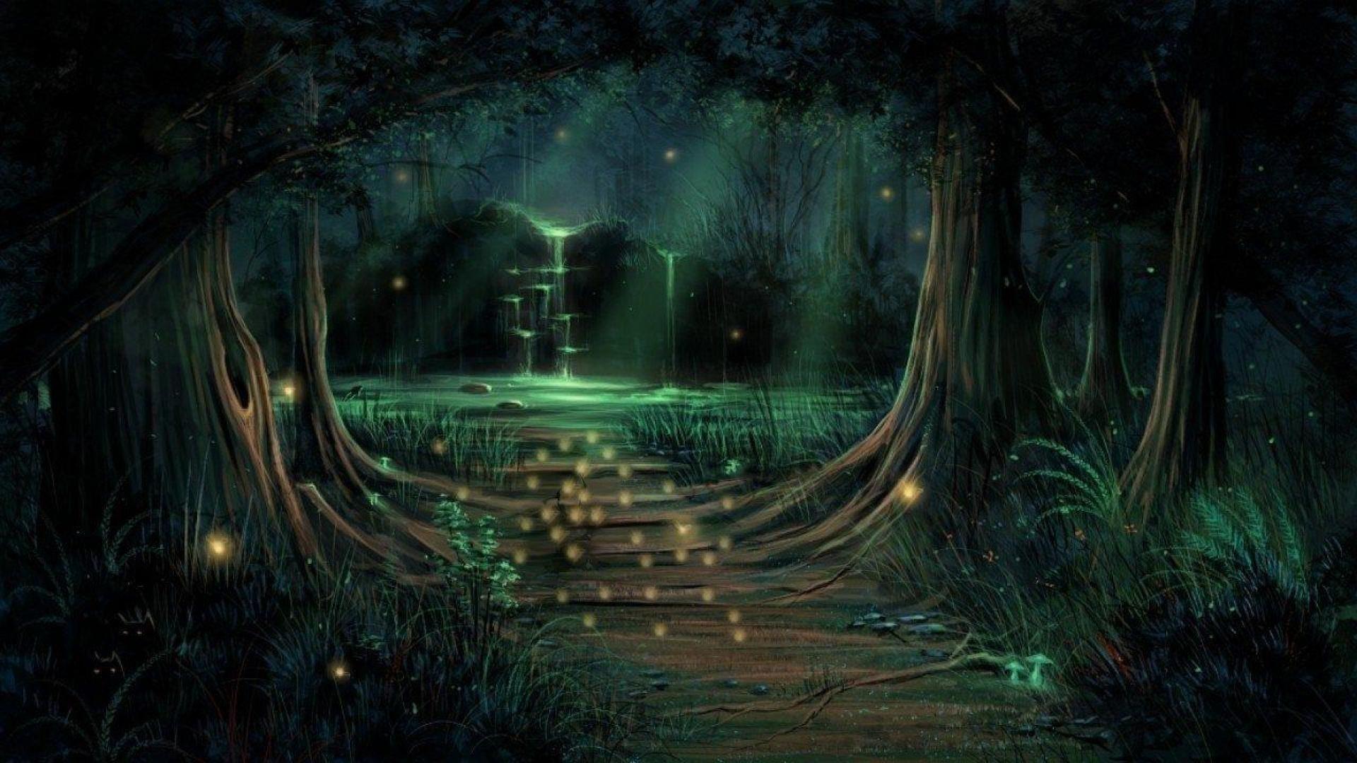 разделенную картинки фэнтези лес тропинка продаем надежные