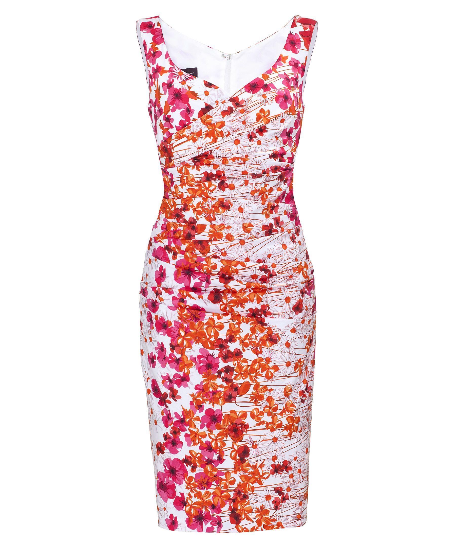 Talbot Runhof Dress #flower #dress www.fashion.engelhorn.de