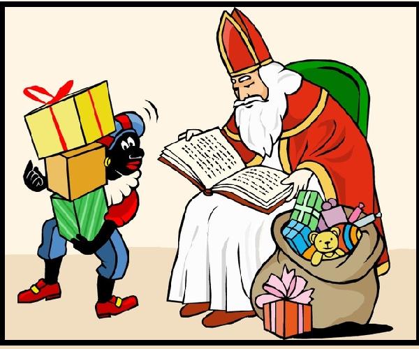Sinterklaas bij u en uw kinderen aan huis.